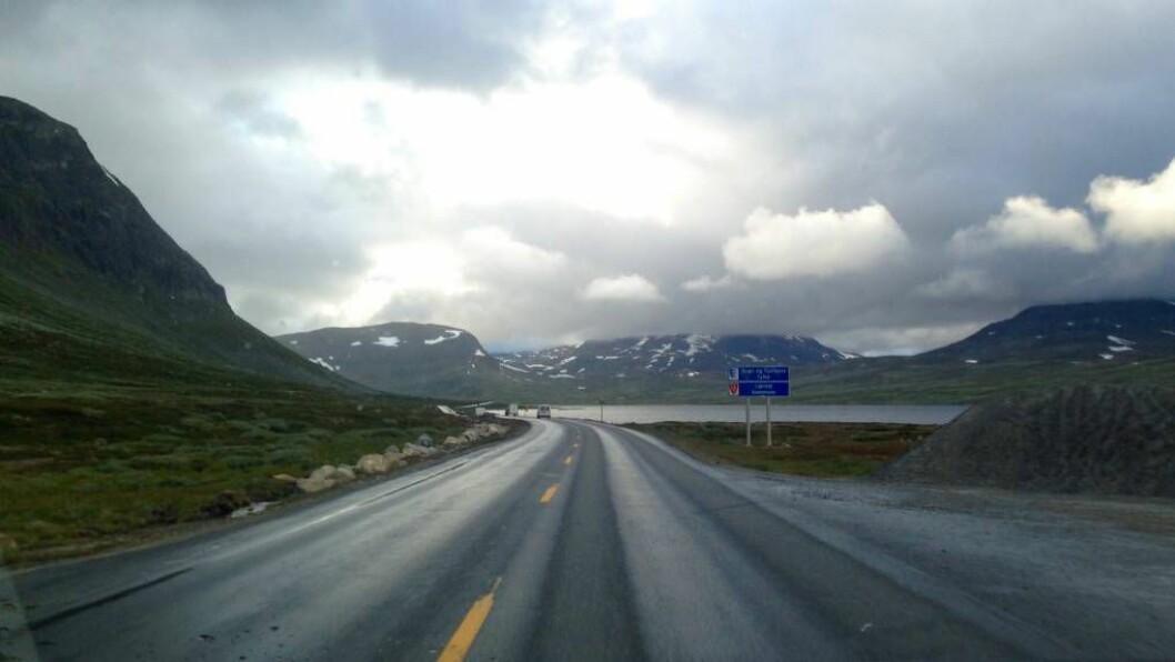 BEST I TEST: Hemsedalsfjellet kjem best ut i alle fagrapportar. Likevel held kampen med Hardangervidda fram om å bli andre hovudveg mellom aust og vest. Foto: arkiv.