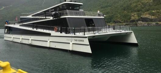 Her er Vision of the Fjords endeleg på plass i Flåm