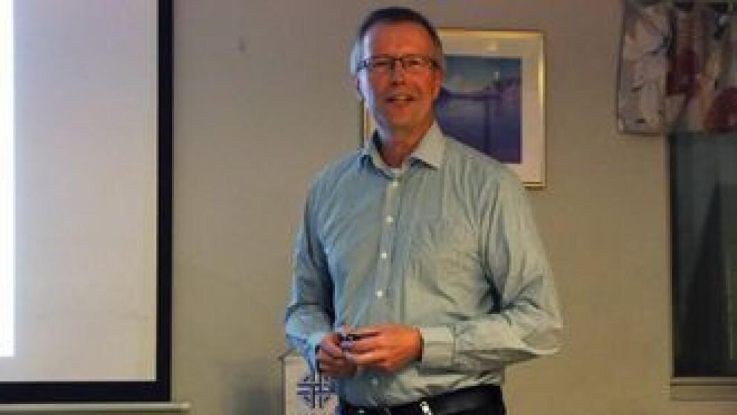 OPPGITT:Fabrikksjef for Norsun, Steinar Talle, meiner straumforsyninga til Årdal burde vera meir stabil.