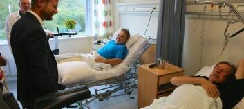 Lærdal sjukehus får toppkarakter frå pasientar