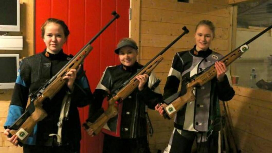 STEVNE: Sara Vie (til venstre) vann Norgescupstevnet laurdag. Foto: Arkiv