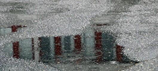 Mindre regn enn venta – justerer ned farevarsel