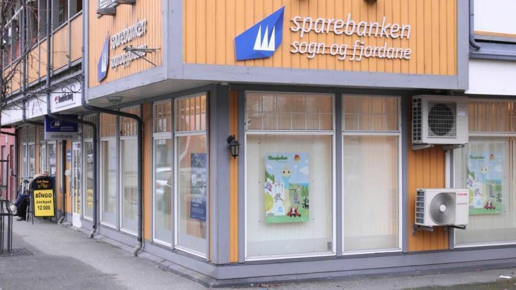 SPAREBANKEN: Sparebanken Sogn og Fjordane har lagt fram rapport for andre kvartal.