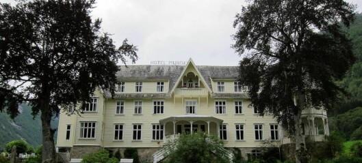 Det historiske hotellet slepp eigedomsskatt