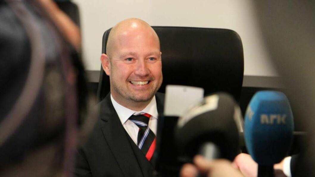 GIR KRITIKK: Justisminister Anders Anundsen er ikkje nøgd med måten politiet etterforskar valdtekter.