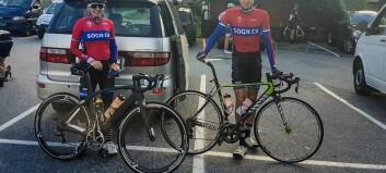 Dei to årdølene imponerer på sykkelsetet