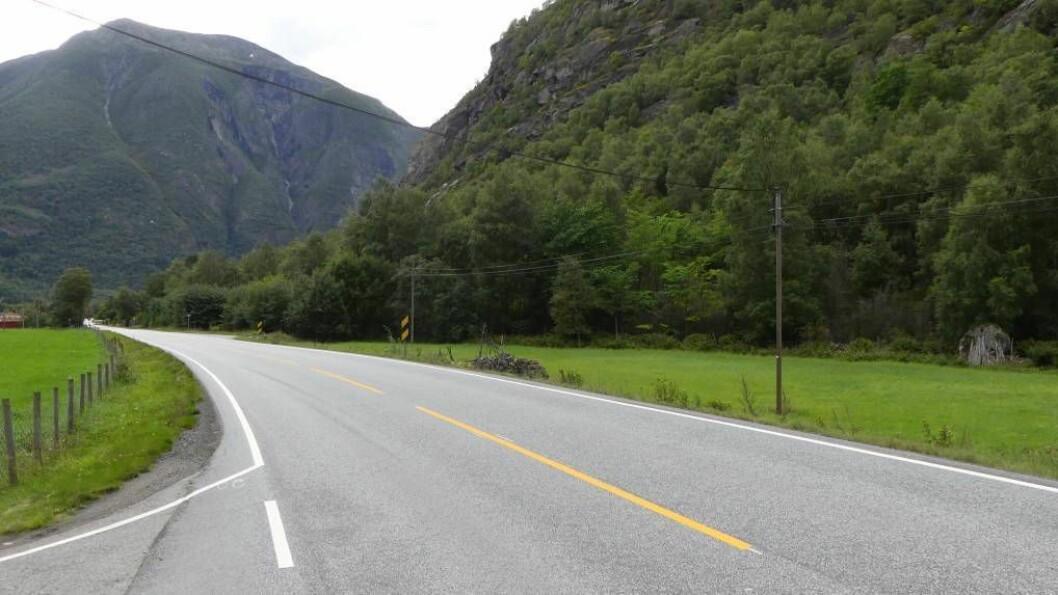 INNSLAG: Det vestlege innslaget på tunnelen forbi Ljøsne vil bli her på Stuvane. Foto: Ole Ramshus Sælthun