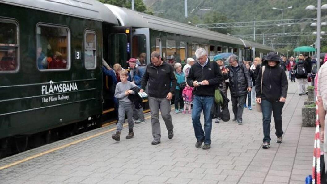 MAGNET:Flåm i Aurland, med den vidgjetne Flåmsbana, er ein av stadane der Fjord Norge meiner ein bør kunne krevje turistskatt.