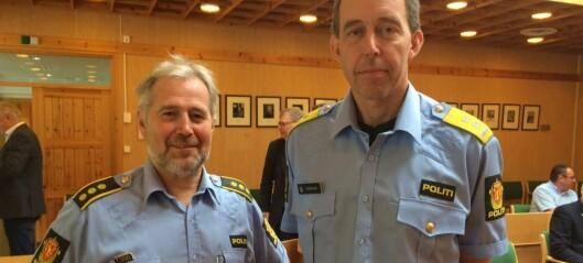 Politimeisteren går for lensmannskontor i Lærdal