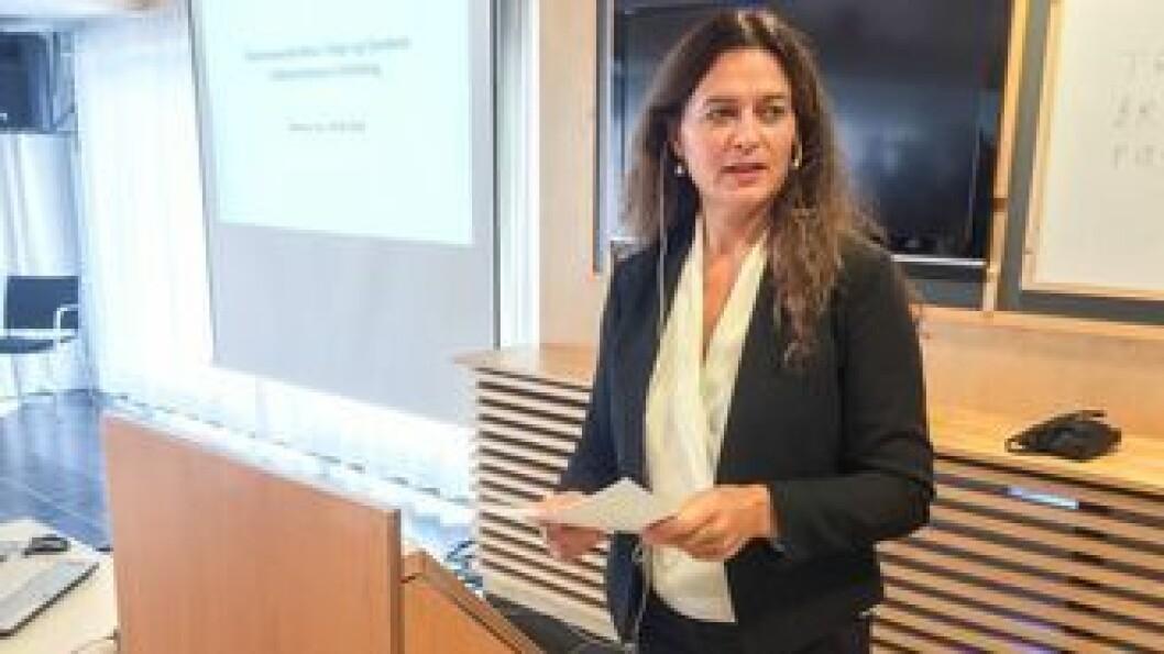 NY TILRÅDING: Drøye tre månader har gått sidan fylkesmann Anne Karin Hamre la fram hennar forslag til samanslåingar i Sogn og Fjordane. I dag vart den reviderte utgåva levert til kommunaldepartementet.