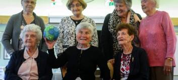 Desse damene starta handballeventyret