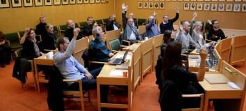 Porten.no sender frå kommunestyremøtet i Lærdal