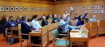 Fem parti stiller valliste i Lærdal