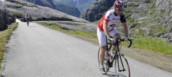 Støttar opp om sykkellaup