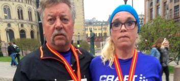 Fullførte sitt første løp – no siktar Anita på fleire