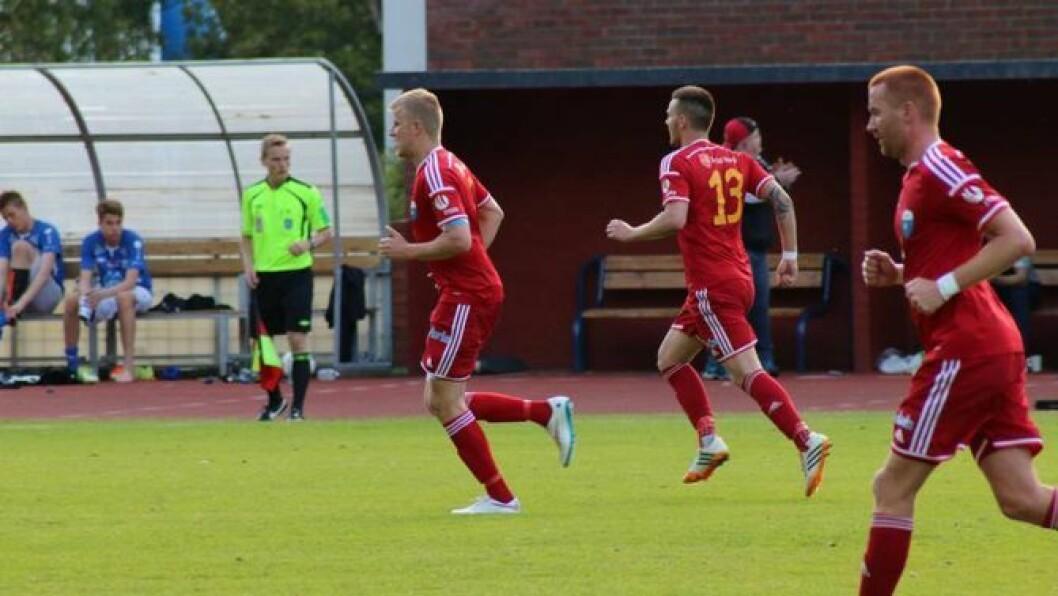 TRENINGSKAMP: Årdal FK vann treningskampen mot Valdres FK i oppkøyringa mot haustsesongen. Arkivfoto