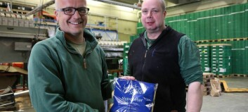 Håpar å skilja seg ut i grønsaksdisken med ny emballasje