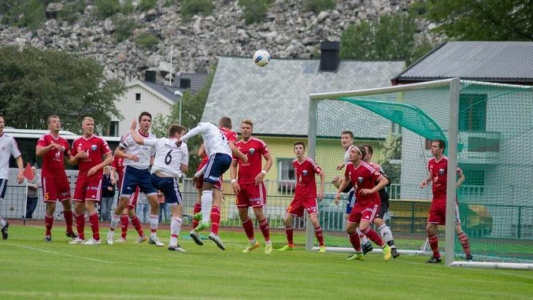 UAVGJORT: Årdal FK spelte uavgjort mot Stryn FK på Stryn stadion laurdag i den 15 seriekampen for sesongen. Arkivfoto:Ingrid Nordbye-Antonsen
