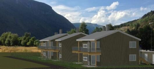 Bustadprosjektet på Einemomarki blir ein realitet