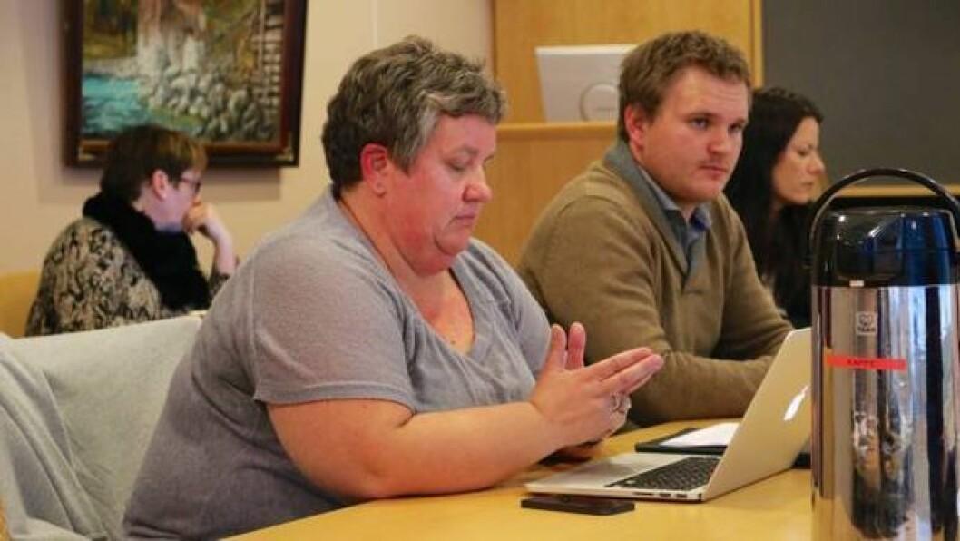 ULIKT SYN: Anne Kauppi (Ap) og Aleksander Øren Heen (Sp) har ulikt syn på konsekvensane av ei eventuell innføring av fritt skuleval i heile Vestland fylke etter valet.
