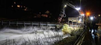 Regn og snøsmelting gjer at NVE åtvarer mot stor fare for både flaum og skred