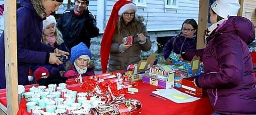 Stemningsfull julemarknad på gamle Lærdalsøyri