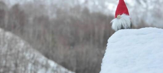 Drøymer du også om ei kvit jul? Då må du kanskje tenke om att