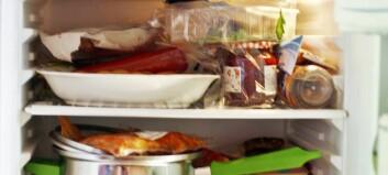 Redd maten frå kjøleskåpet
