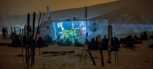 Kino i vinterlege omgjevnader