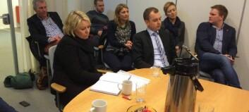 Ministeren rosar omstillingsarbeidet til Lærdal