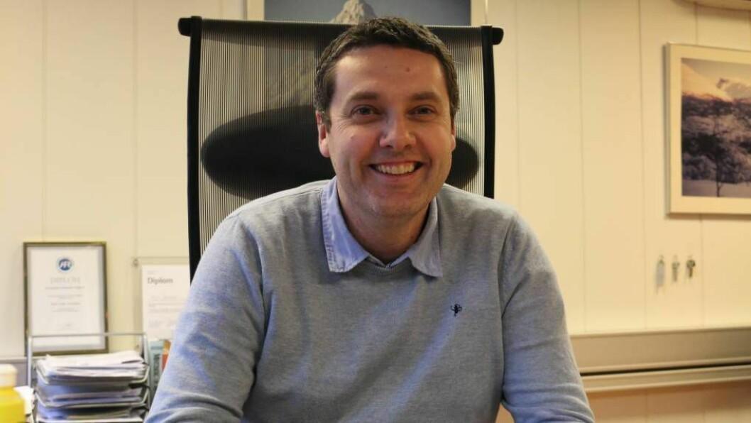 NY ROLLE: Kurt Jevnaker er den nye rektoren på Farnes skule.