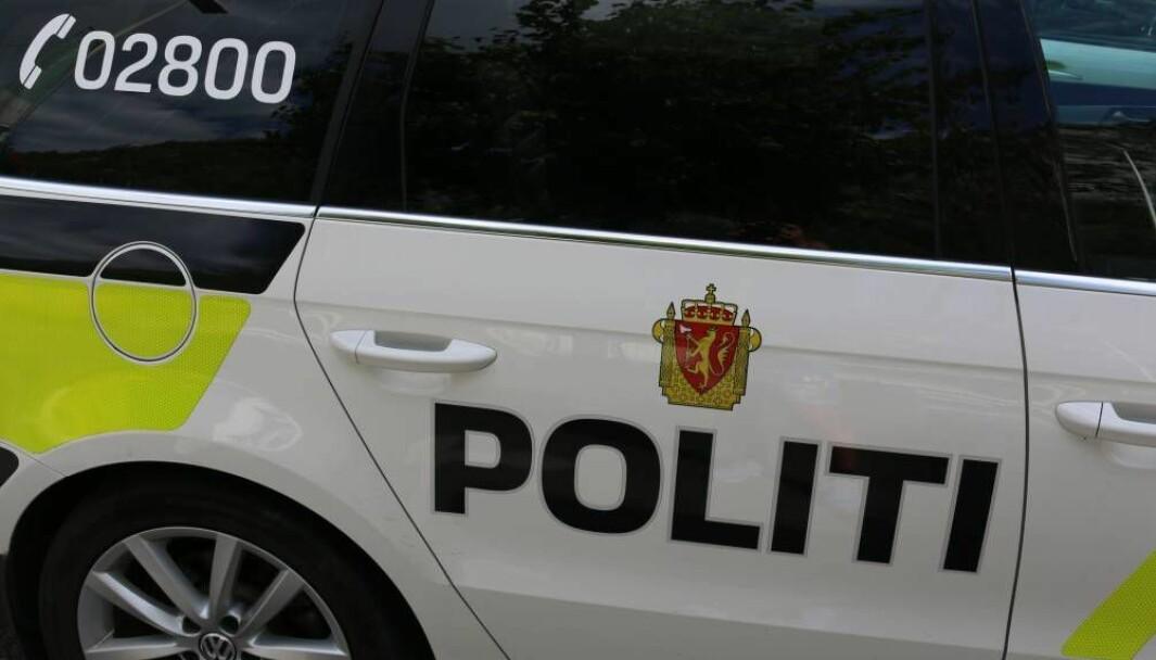 UTRYKKING: Politiet opplyser om at naud