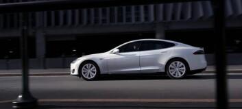 Fornøgde Tesla-eigarar