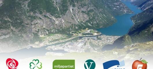 Her er det nye kommunestyret i Årdal