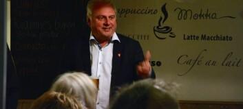 Solheim og Senterpartiet gir ikkje klubba frå seg