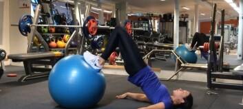 Treningstips: Øving for rumpe og bakside lår