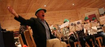 Avslutta 90-årsjubileumet med ompamusikk