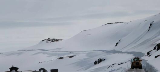 Snøvegen er no vinterstengt