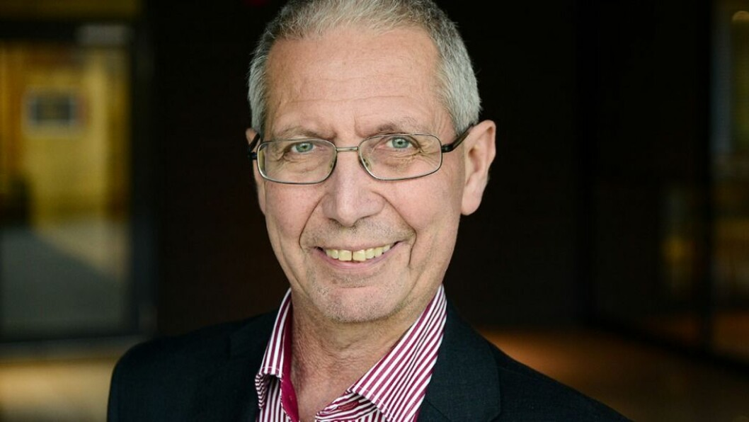 ØNSKJER: - Eg ønskjer meg eijul utan drepne i trafikken, seier vegdirektør Terje Moe Gustavsen. Foto: Knut Opeide