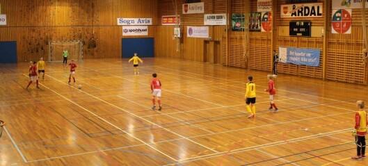 Første futsal-turneringa i Sogn og Fjordane