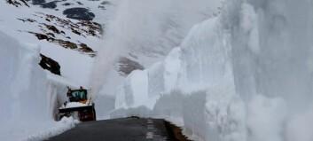 Vinter over heile landet