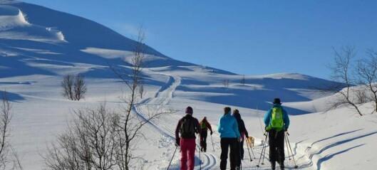 Nydeleg vêr frista skifolket til fjells i helga