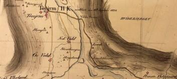 Sensasjonelt funn av historiske kart over Kongevegen