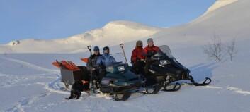 Alt ligg til rette for fine skiturar i Fardalsfjella