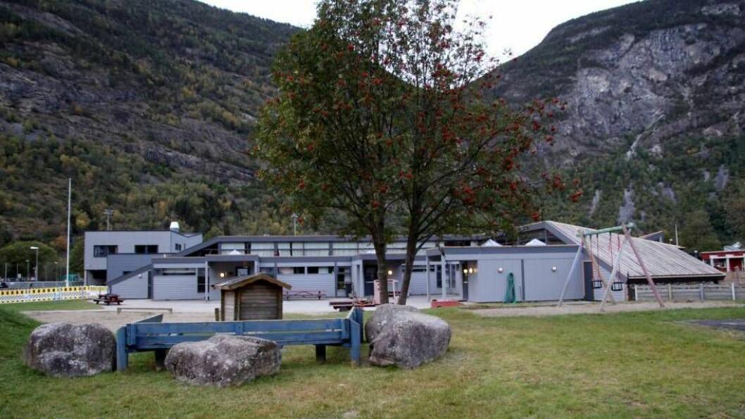 NY AVDELING: Berre seks månader etter at ei avdeling vart stengt i Lærdalsøyri barnehage, ser kommunen behov for å opne ho opp att.