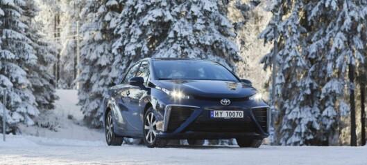 Utvalet av hydrogenbilar i Noreg blir dobla