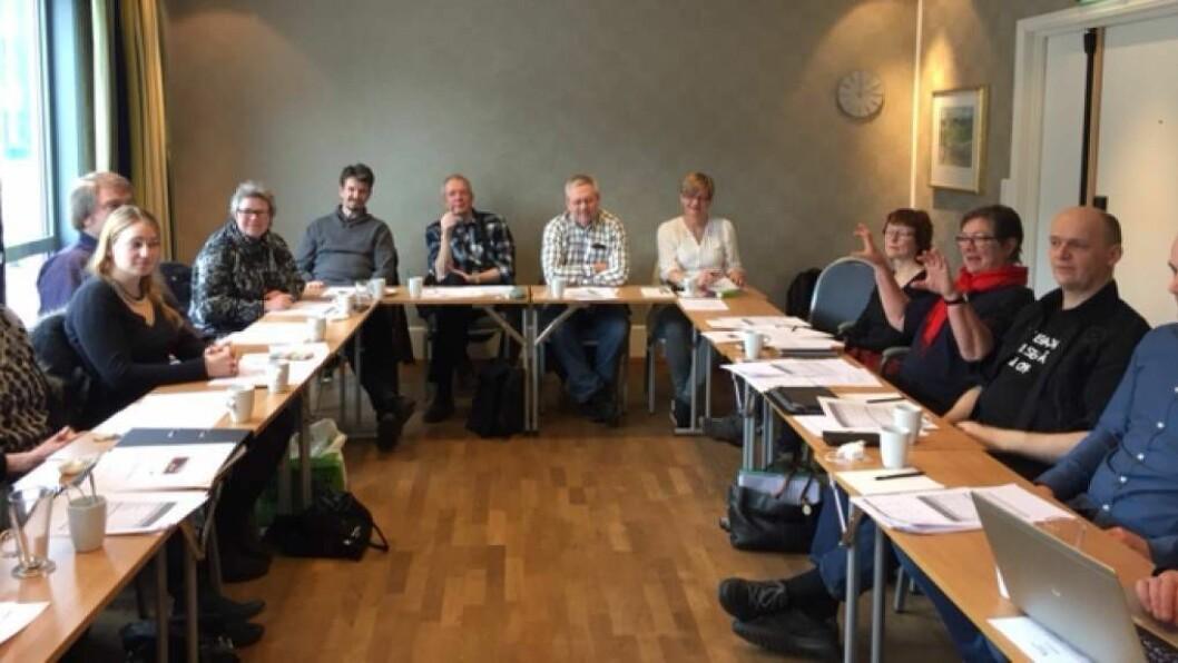 ÅRSMØTE: Human-Etisk forbund sitt fylkeslag hadde årsmøte den 12.mars, der dei valgte nytt fylkesstyre. FOTO: Human-Etisk forbund