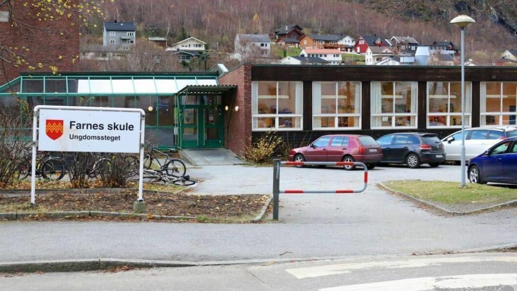 Fire stykker har søkt på jobben som rektor på Farnes skule.