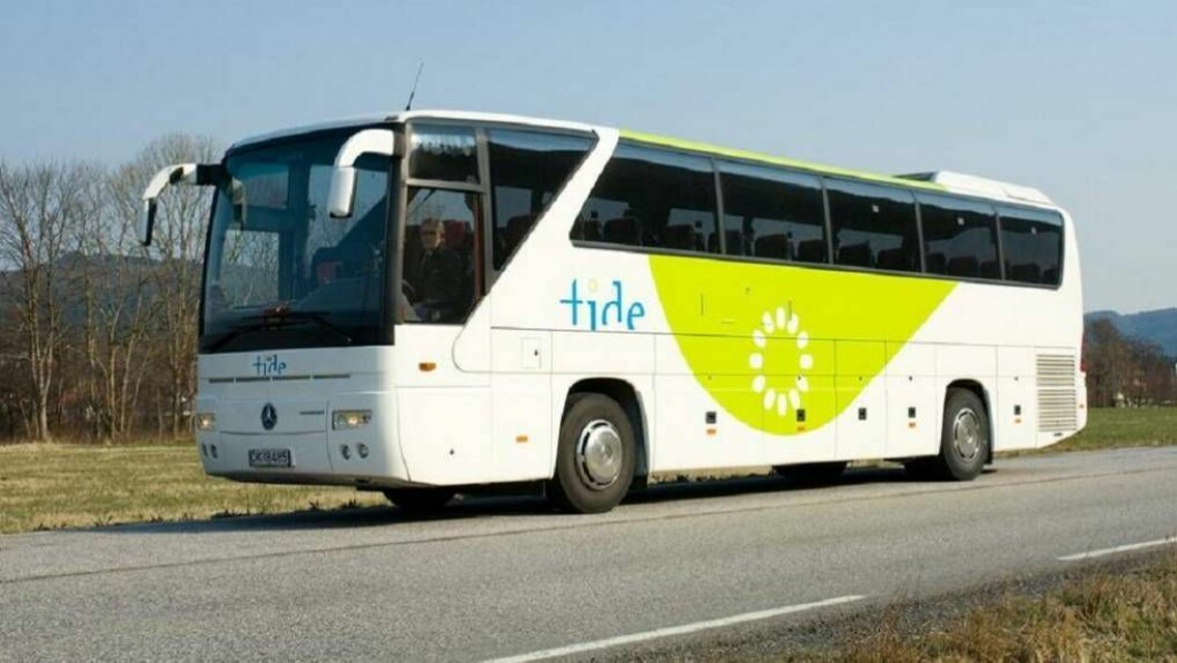 UVISSE: Desse bussane kan bli ståande neste veke.