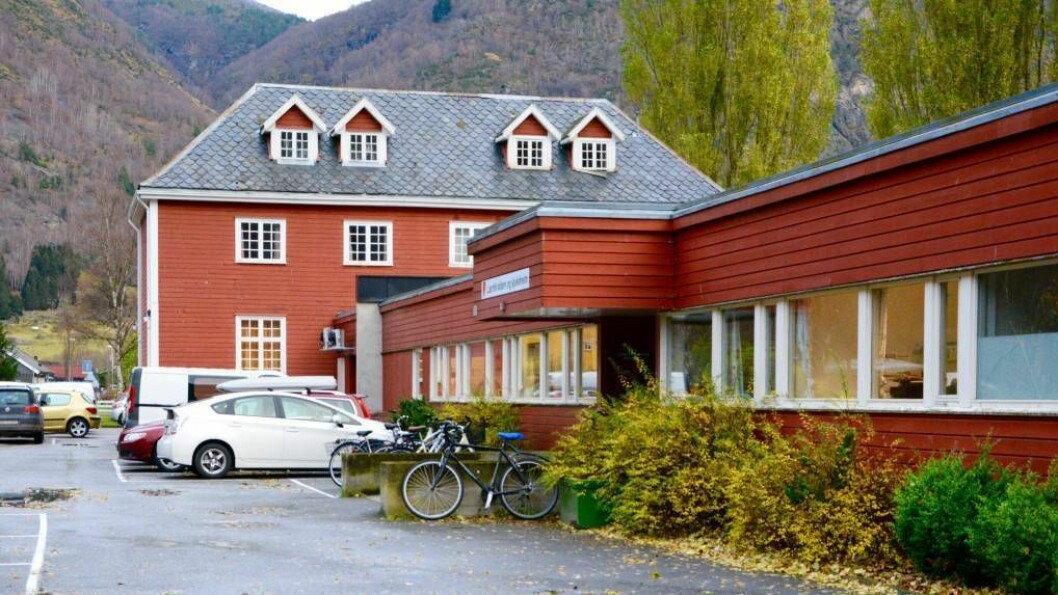 SPARA: Lærdal kommune håpar på å spara mellom sju og åtte millionar kroner på å byggje om aldersheimen til bu og omsorgsheim. Foto: Arkiv.